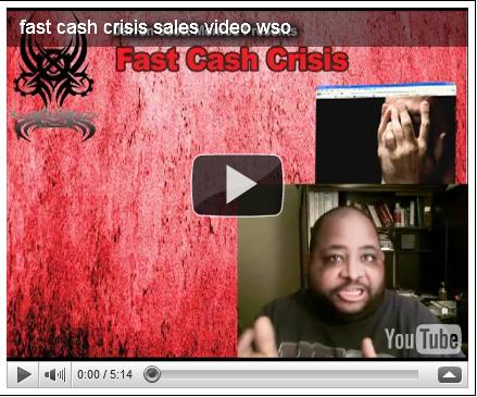 fast cash crisis