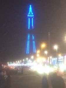 tony shepherd at blackpool illuminations