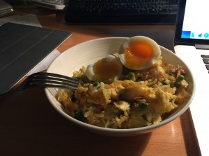 home made kedgeree