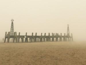Lytham St Annes fog