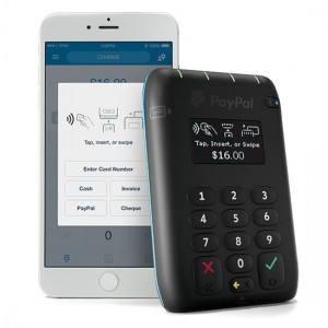 Paypal tap and go new card reader